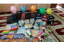 یکصد بسته لوازمالتحریر ایرانی میان دانشآموزان نیازمند شیرازی توزیع شد