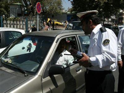 از سامانه نشان دادن تصویر پلاک خودروها حین تخلف رونمایی می شود