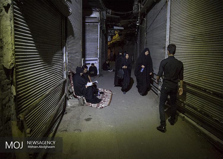 شب بیست و سوم ماه مبارک رمضان در مسجد جامع بازار تهران