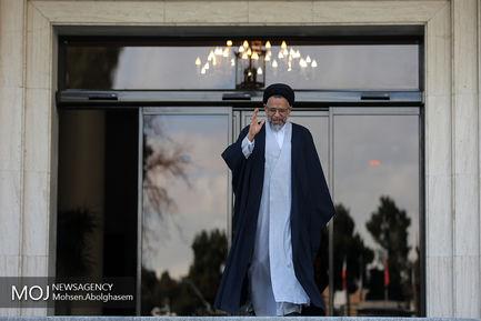 حاشیه جلسه هیات دولت - ۱۹ دی ۱۳۹۷/محمود علوی وزیر اطلاعات
