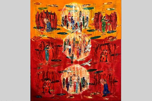 نیان نقاشان ایرانی را به میلان فرستاد.