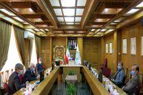دیدار مسوولان بهداشت و درمان کشور با شهردار تهران