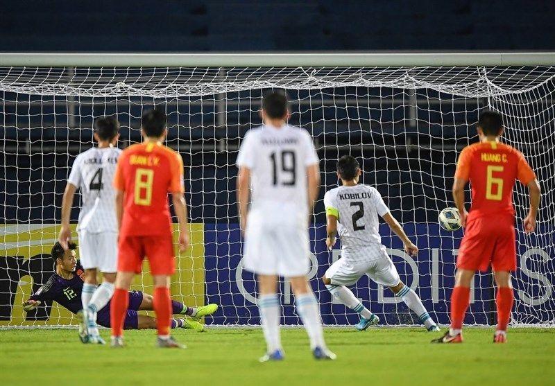 نتیجه بازی تیم ملی فوتبال امید چین و ازبکستان
