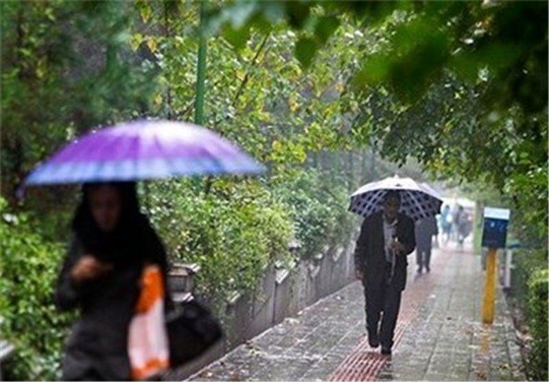 بارشهای رگباری مهمان پایان هفته آسمان مازندران