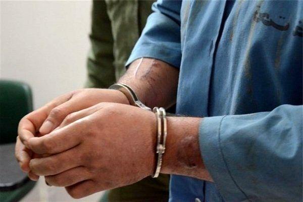 سارق لاستیک خودرو در یزد دستگیر شد