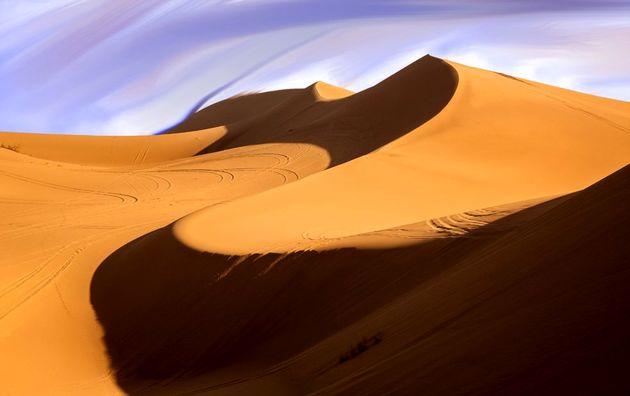 در پی بارش های اخیر ورود گردشگران به کویر مرنجاب ممنوع شد