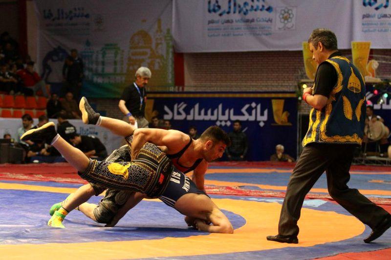 برگزاری کشتی پهلوانی قهرمانی آسیا در خراسان شمالی
