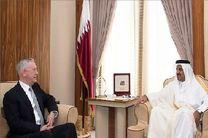 گفتوگوی امیر قطر و ماتیس درباره بحران میان دوحه و کشورهای عربی
