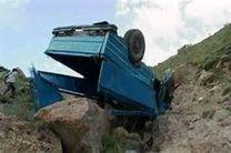 سقوط نیسان وانت به دره در الیگودرز یک کشته و ۱۵ مصدوم بر جا گذاشت