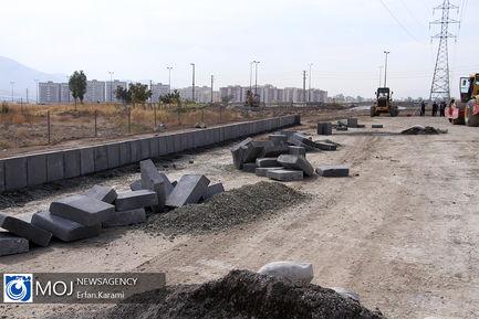 بازدید اصحاب رسانه از پروژه های مختلف شهرداری سنندج