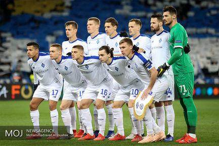 دیدار تیم های فوتبال دیناموکیف اوکراین و چلسی انگلیس