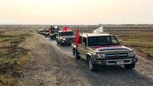 آمادگی نیروهای حشد شعبی جهت مقابله با حمله احتمالی آمریکا