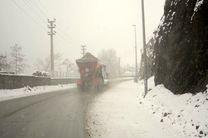 مه و کاهش دید افقی در جاده های زنجان حاکم است