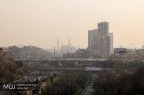 کیفیت هوای تهران در 30 آبان 97 ناسالم است