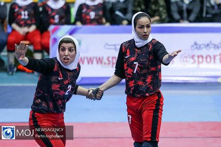 لیگ برتر کبدی بانوان در مشهد