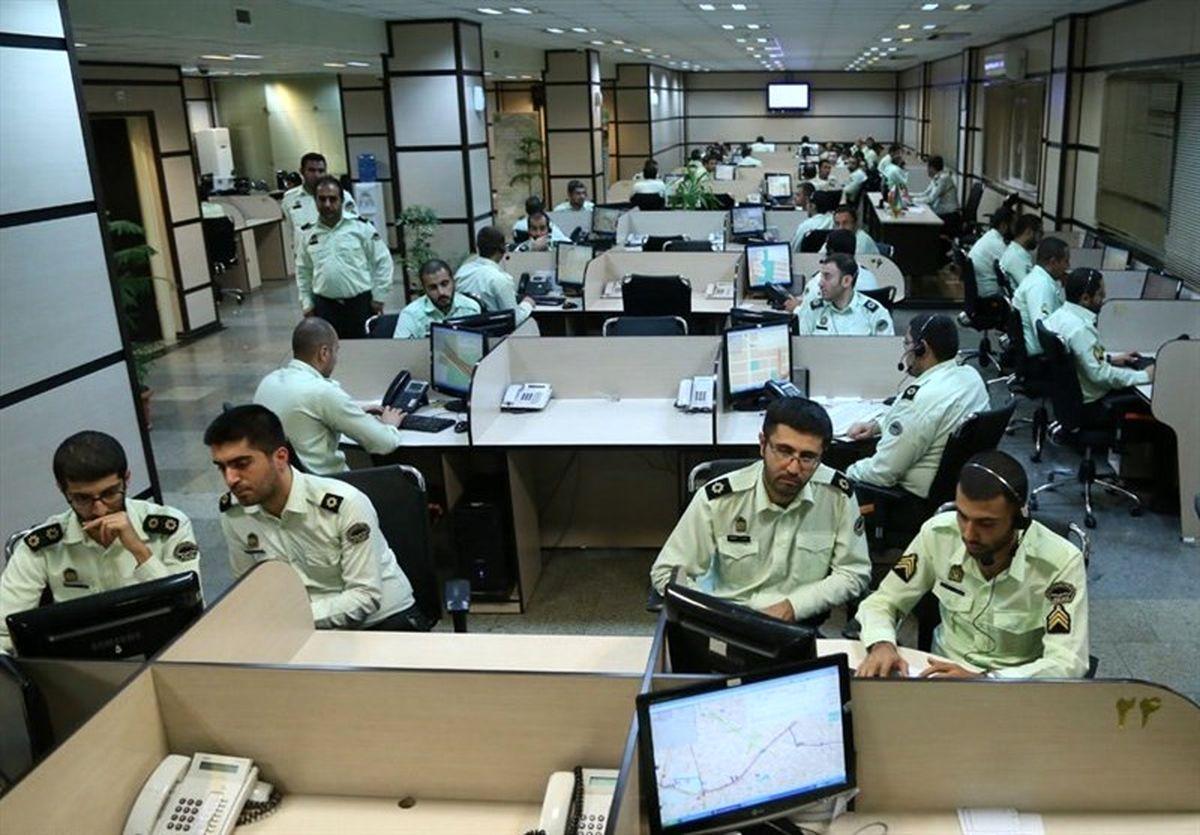 افزایش ۴ برابری تماس شهروندان تهرانی با پلیس ۱۱۰