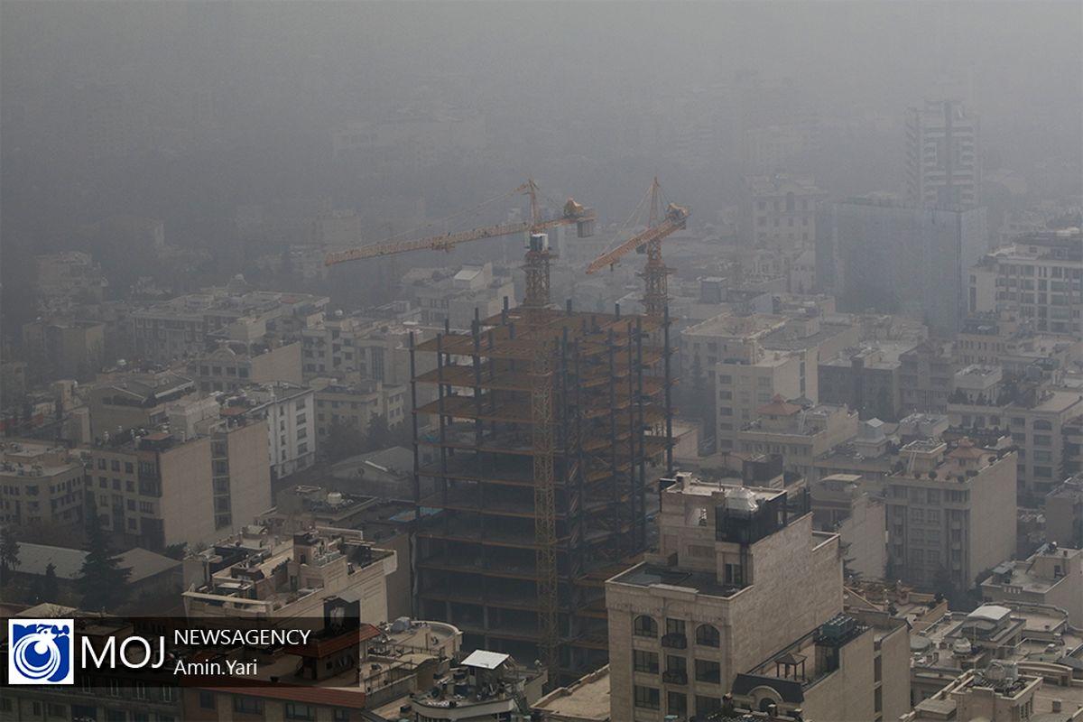 آلودگی هوای تهران برای سومین روز پیاپی