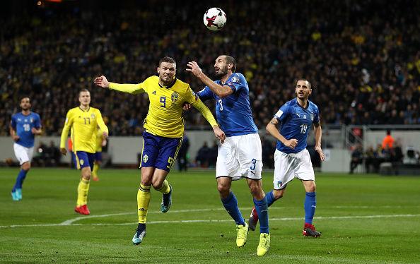 ایتالیا در آستانه حذف از جام جهانی قرار گرفت