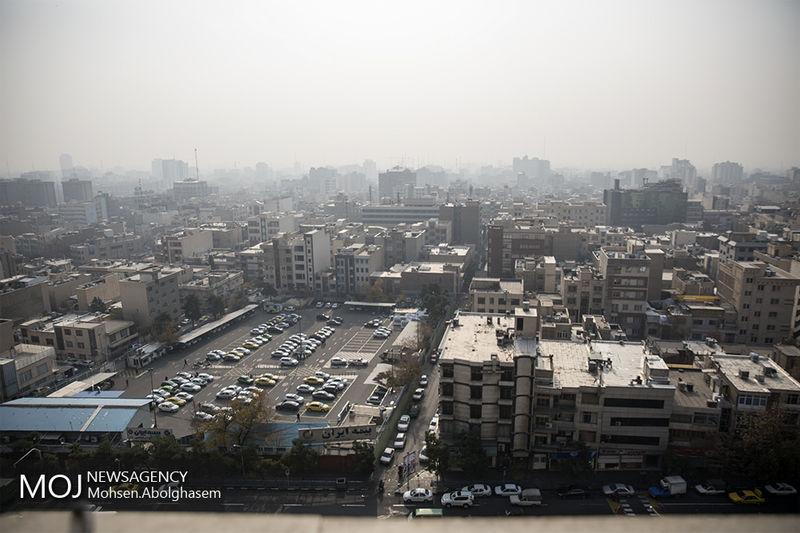 کیفیت هوای تهران در 16 آبان 98 ناسالم است