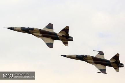 افتتاح+نمایشگاه+اقتدار+هوایی+نیروهای+مسلح