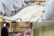آقای دکتر فاضل به همراه تعدادی از دولت مردان به عیادت پدر طبیعت ایران دکتر غلامعلی بسکی رفتند