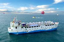 توقف رفتوآمد دریایی به جزیره کیش  در 24 ساعت آینده