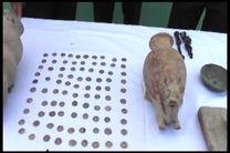 106 قطعه اشیاء عتیقه در هرسین کشف شد
