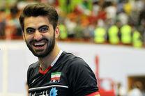امیر غفور با تیم والیبال مونزا ایتالیا قرارداد بست