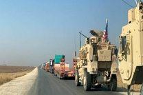 کاروان حامل تجهیزات و تسلیحات آمریکایی از عراق وارد سوریه شد
