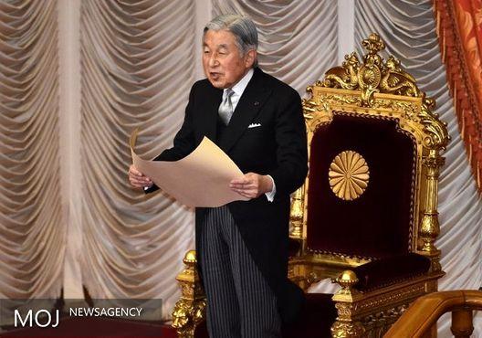 امپراطور ژاپن: توانم برای انجام وظائف کم شده است