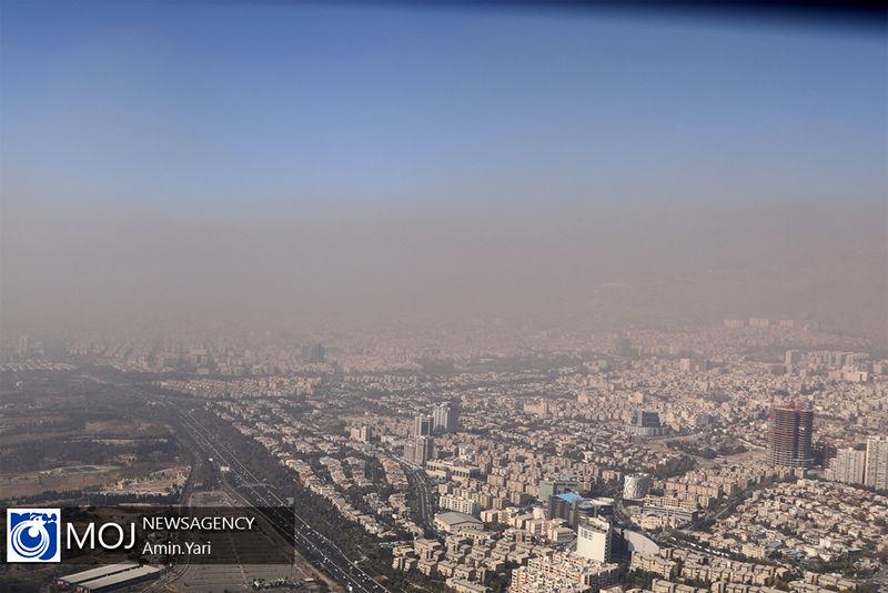 کیفیت هوای تهران ۱۷ اسفند ۹۸ سالم است/ شاخص کیفیت هوا به ۷۲ رسید