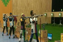 دهمین مدال کاروان ایران در باکو برای تیم دوم تیراندازی به رنگ نقره