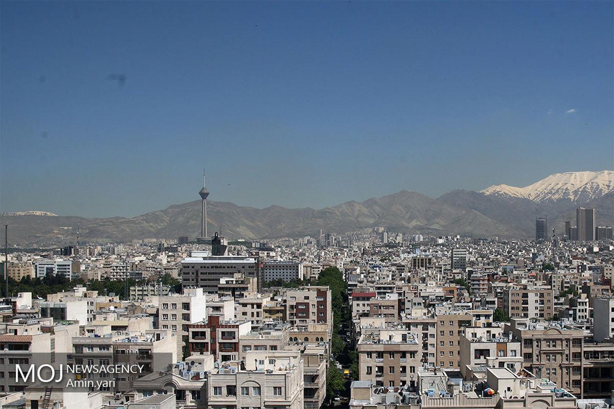 کیفیت و دمای هوای تهران در روز جاری اعلام شد