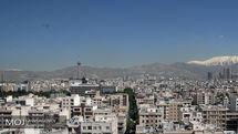 کیفیت هوای تهران در 2 شهریور 98 سالم است