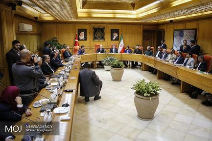 دیدار وزرای کشور ایران وترکیه