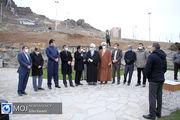 بازدید نماینده ولی فقیه در استان کردستان از پروژه های سنندج
