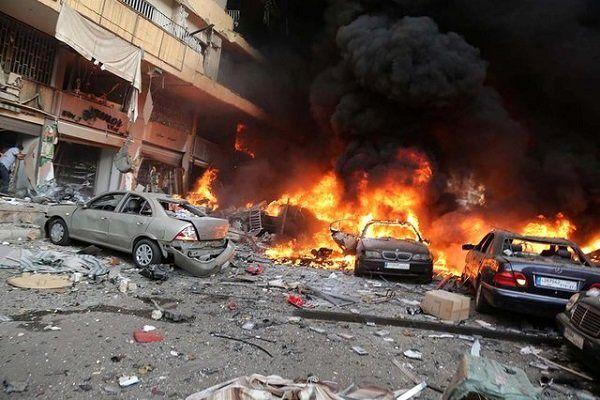 حمله موشکی گروههای تروریستی به حومه حماه