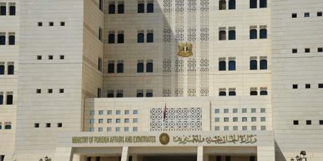 وزارت خارجه سوریه: هیچ سلاح شمیایی نداریم