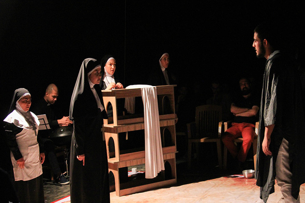 آغاز اجرای نمایش بدن مقدس در تماشاخانه انتظامی از فردا