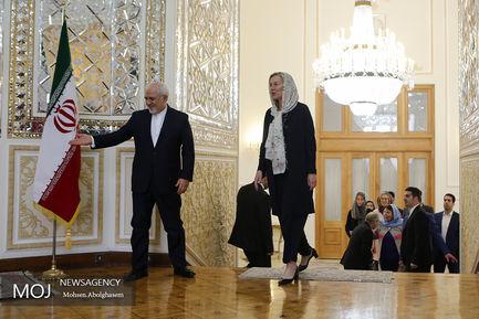 دیدار وزیر امور خارجه هلند با محمد جواد ظریف