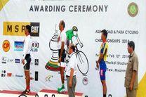 دو مدال طلای دوچرخه سواران پیشکسوت ایران