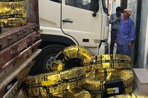 توزیع 35 هزار لاستیک یارانهای در پایانه بار بندرعباس