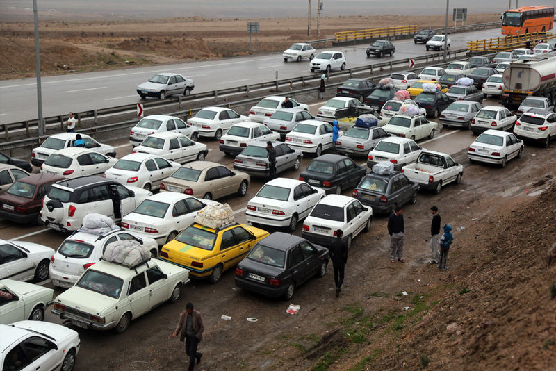 وضعیت ترافیکی جاده های کشور/ترافیک نیمه سنگین در محورهای شمالی