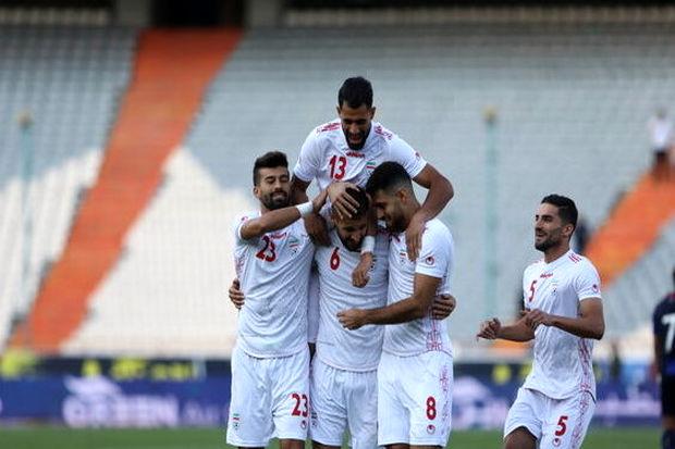 نتیجه بازی تیم ملی فوتبال ایران و کامبوج در نیمه نخست