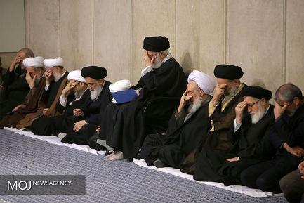 بزرگداشت آیتالله مومن در حسینیه امام خمینی (ره)