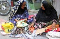 ممنوعیت فعالیت دستفروشان در خیابان حافظ بندرعباس