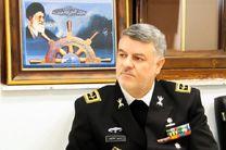بازدید دریادار خانزادی از ایستگاه اطلاعاتی نیروی دریایی ارتش