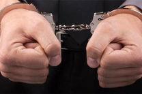 سارقان لوازم داخل خودرو حین سرقت دستگیر شدند
