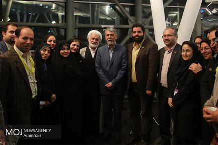 بازدید وزیر ارشاد از جشنواره فیلم کوتاه تهران