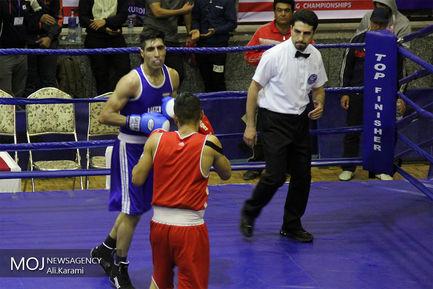 مسابقات بوکس قهرمانی کشور در کردستان